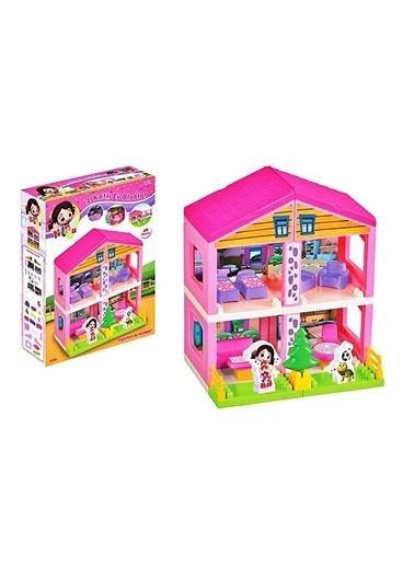 Dede Dede Niloya Tosbip 2 Katlı Evi Kız Evcilik 40 Parça Oyuncak Seti Renkli